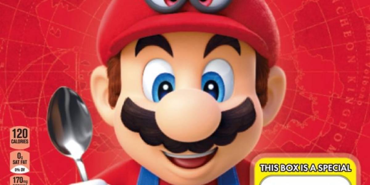 Nintendo confirma que el cereal de Super Mario es real