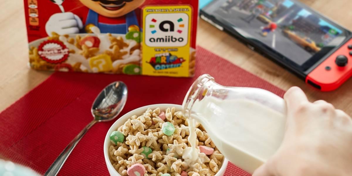 México ¡Ha llegado oficialmente el cereal de Super Mario! pero solo a Sam's Club