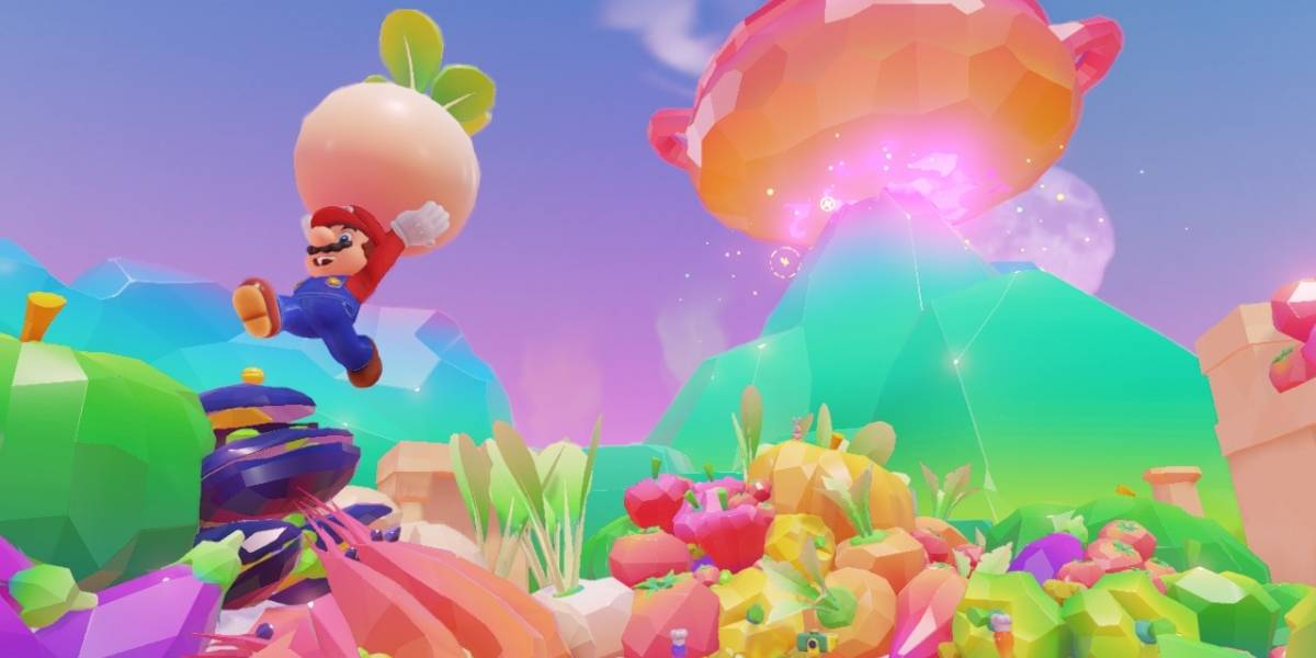 Vean siete minutos de jugabilidad de Super Mario Odyssey #gamescom2017