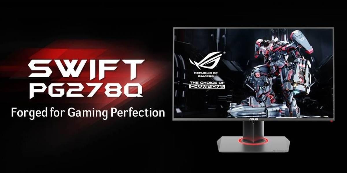ASUS anuncia su monitor gamer ROG Swift PG248Q