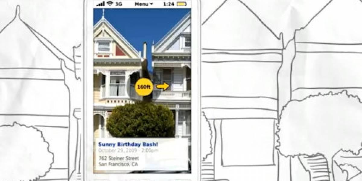 Interfaz conceptual de Symbian usa Realidad Aumentada