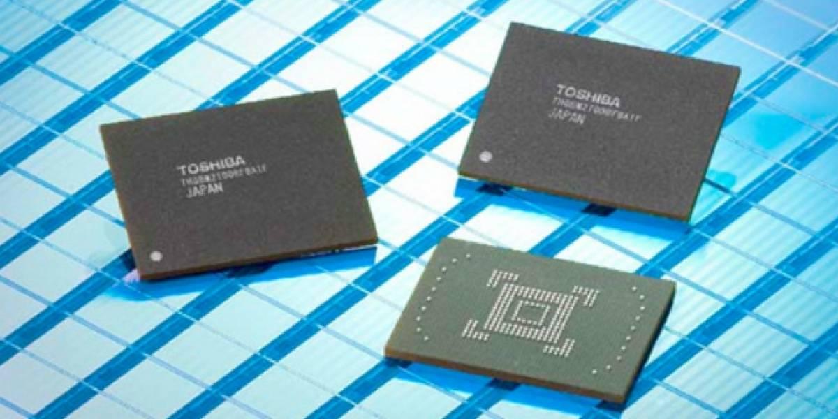Toshiba construirá planta para fabricar memorias NAND flash