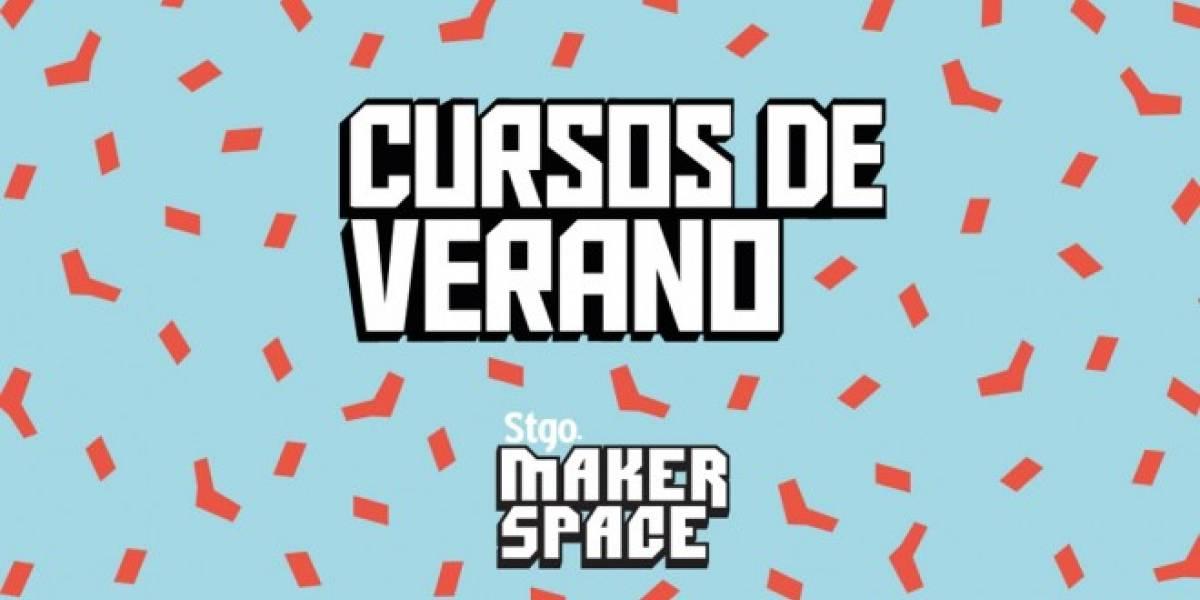 ¡Estas vacaciones de verano son para programar, fabricar y jugar en el Stgo Makerspace!