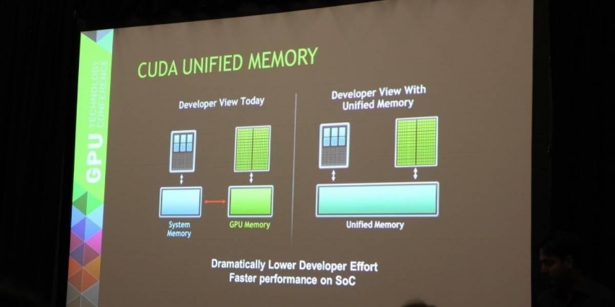 "SoCs NVIDIA Tegra K1 ""Logan"" y ""Parker"" tendrán acceso a memoria unificado"