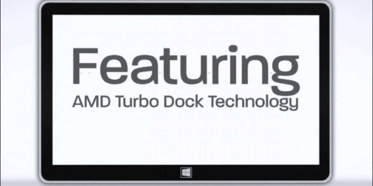 AMD Turbo Dock Technology: La doble personalidad Tablet/Notebook del APU AMD Temash