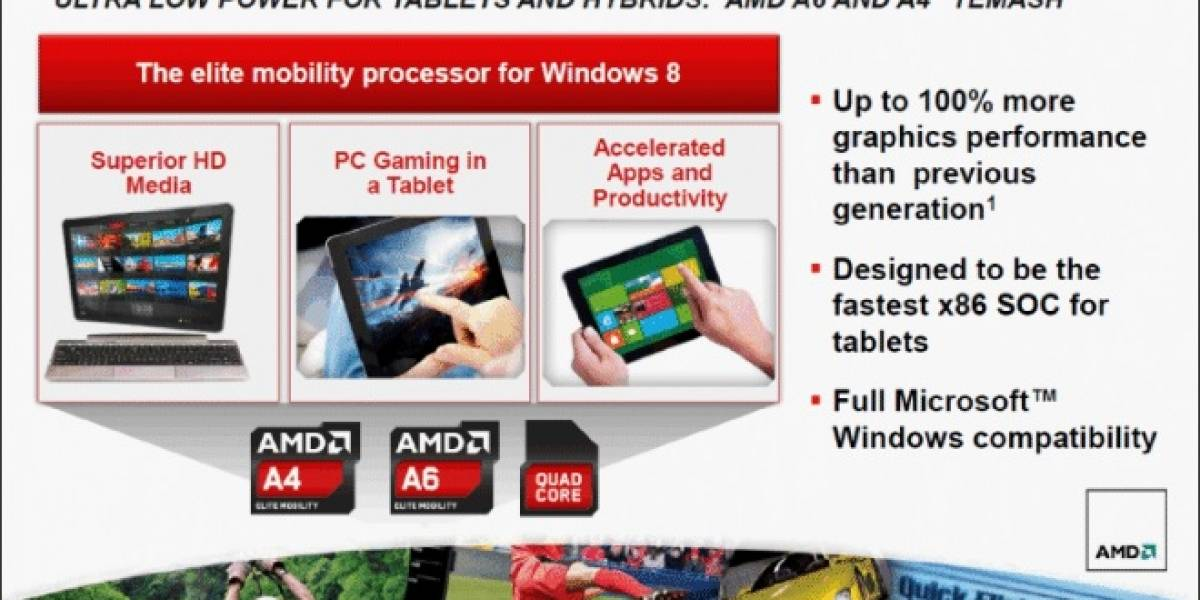 AMD muestra tablet basada en Temash ejecutando Torchlight II