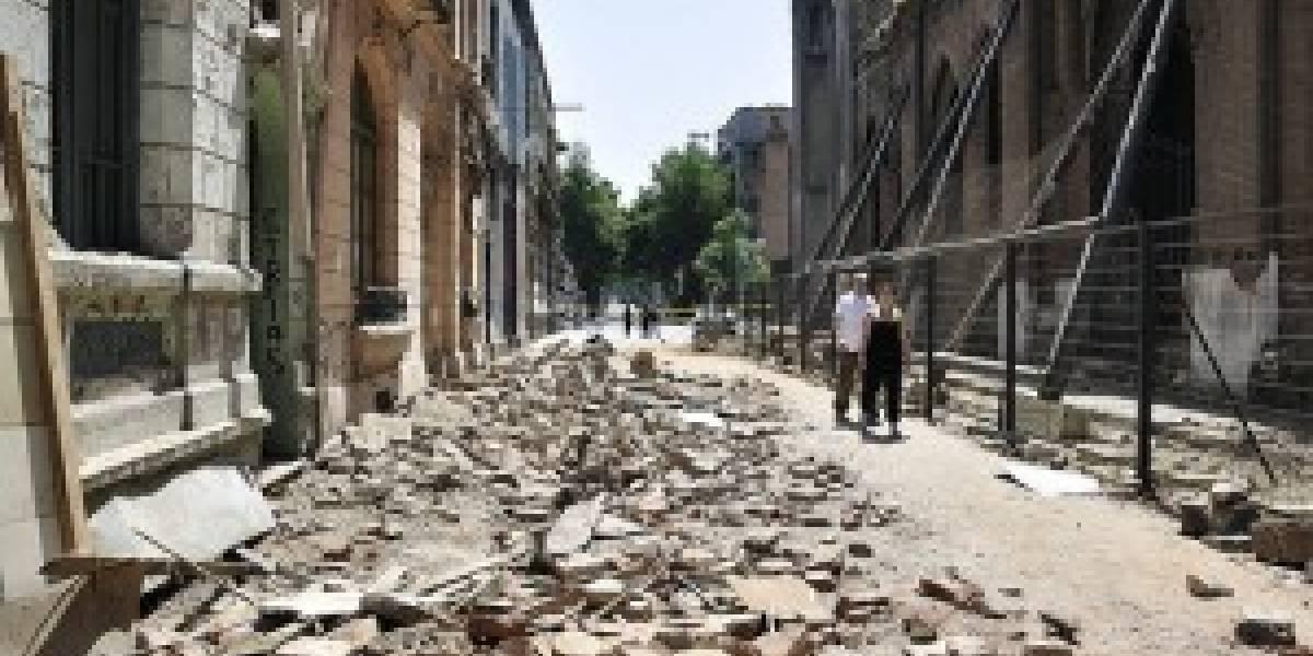 Chile: nuevo temblor interrumpe líneas telefónicas