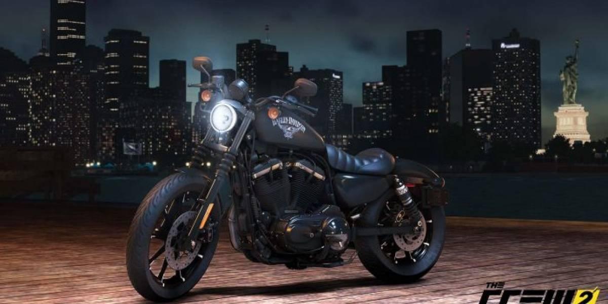 The Crew 2 contará con motocicletas Harley-Davidson
