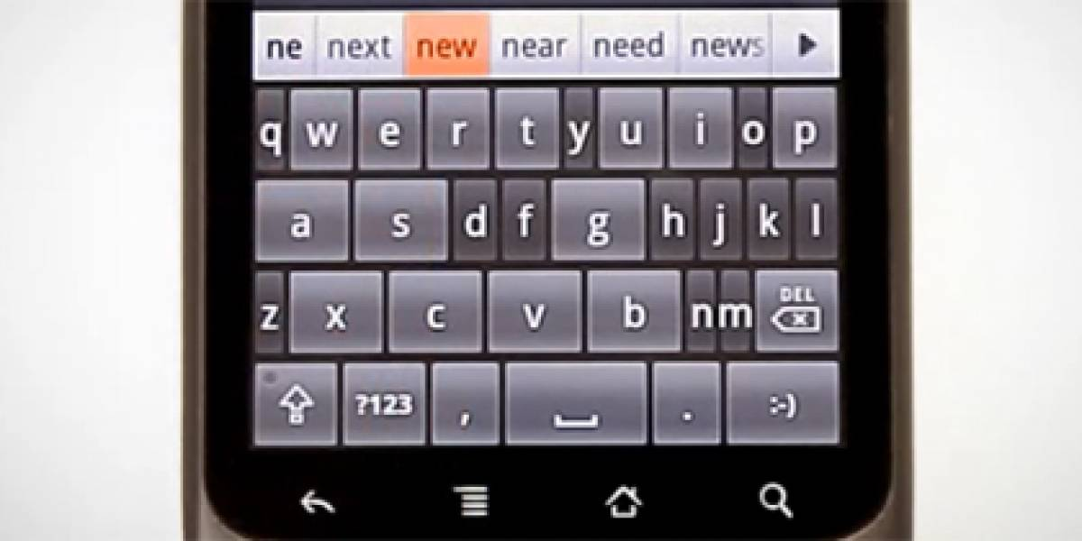 ThickButtons: Una alternativa al teclado virtual de Android