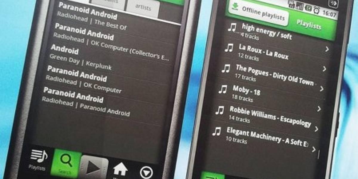 Nokia X6 y 5230 corriendo Android... en un afiche publicitario