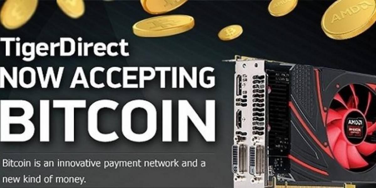 Ahora podrás comprar en Tiger Direct pagando con Bitcoins