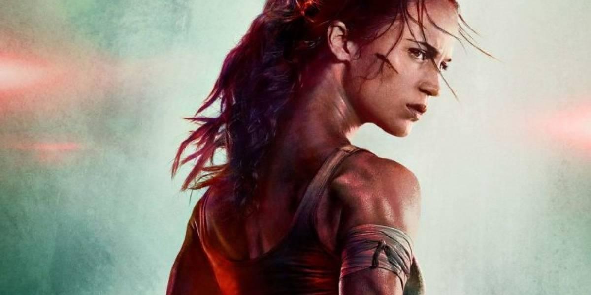 La película de Tomb Raider estrena su primer póster oficial y un intenso teaser