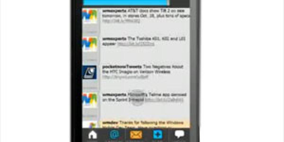 TouchTwit: Un nuevo cliente de Twitter para Windows Mobile