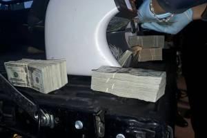 localizan dinero en tráiler en Quiché