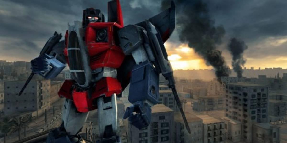 Activision anuncia nuevo contenido para Transformers: Revenge of the Fallen