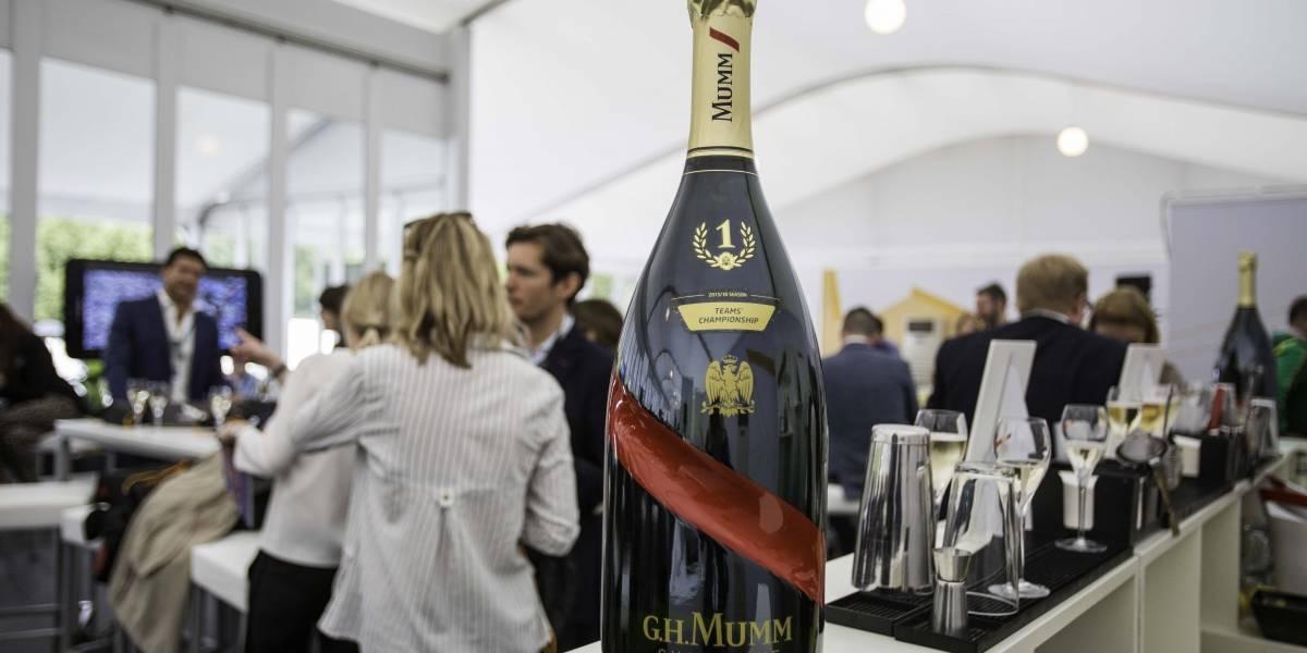 Esta es la champaña con la que celebrarán en el podio del Santiago e-Prix