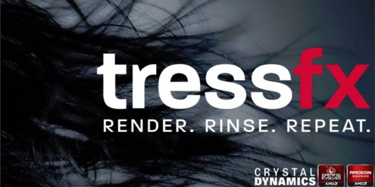 """TressFX: AMD revela su lado """"estilista"""""""