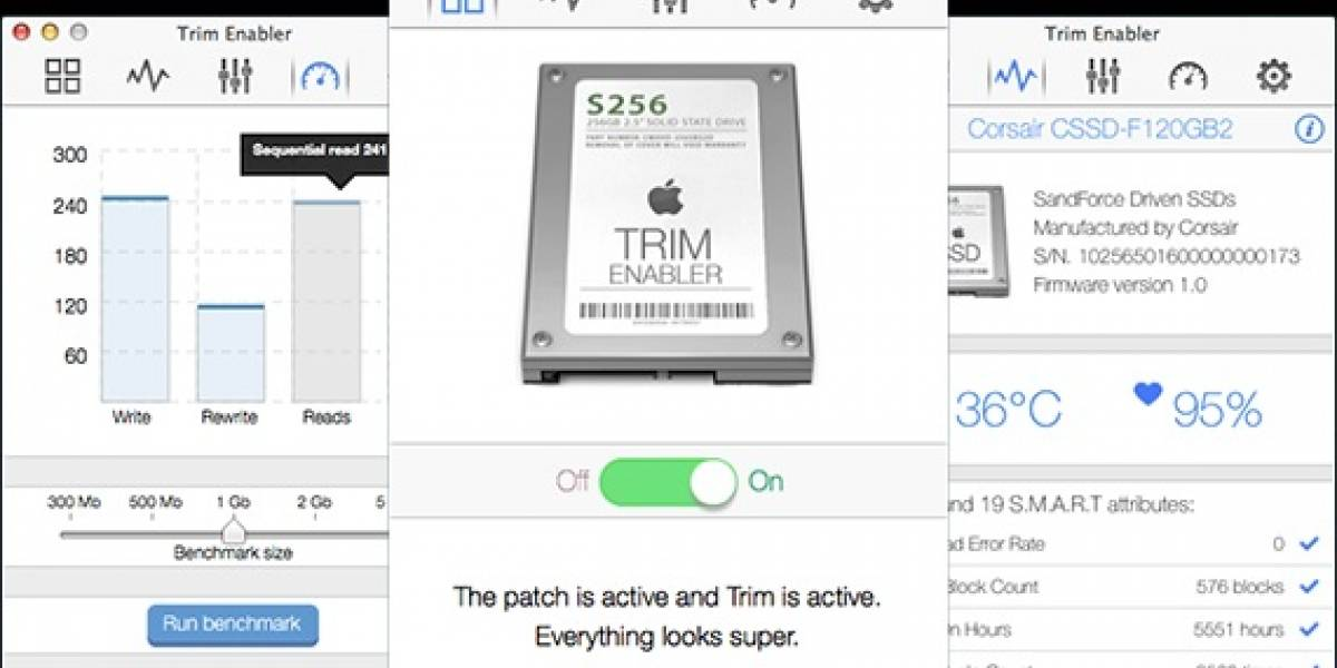 Apple remueve el soporte a TRIM para unidades SSD de terceros