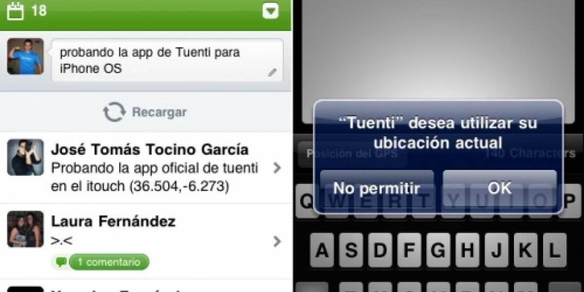 Tuenti ha lanzado su aplicación para el iPhone