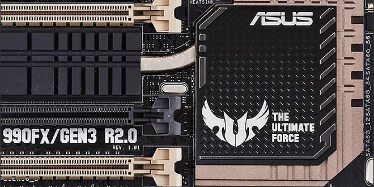 ASUS lanza su nueva tarjeta Sabertooth 990FX/GEN3 R2.0
