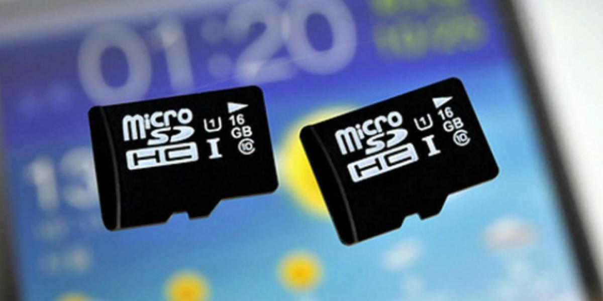 Samsung estrena tarjeta microSD que transfiere datos hasta por 80 MB/seg