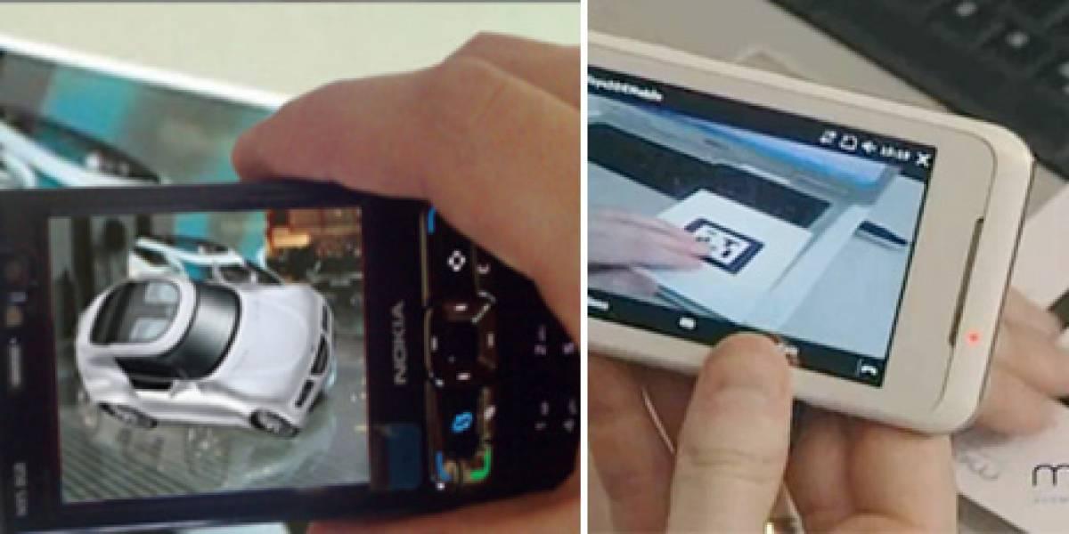MWC10: Unifeye Mobile, SDK para el desarrollo de aplicaciones de realidad aumentada en móviles