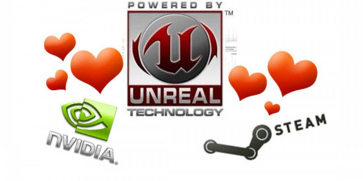 Unreal Engine 3 viene con Steam, NVIDIA 3D Vision [GDC10]