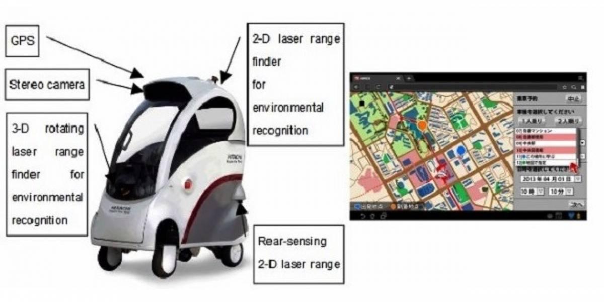 ROPITS: el automóvil que se conduce solo