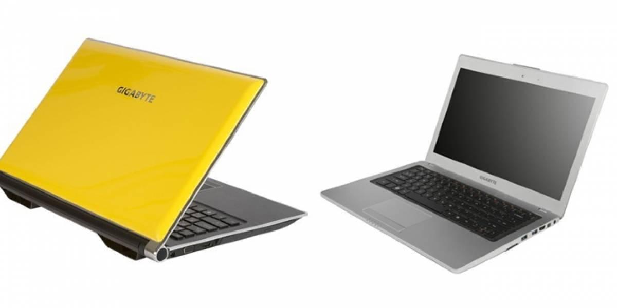 CeBIT 2012: Gigabyte presenta dos Ultrabooks y un laptop para gamers