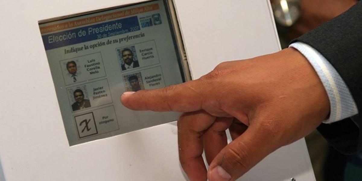 El voto electrónico, una práctica desconocida para gran parte de Latinoamérica
