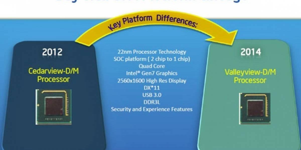 "Intel descontinua 12 SoCs Pentium y Celeron ""Valleyview-M/D"""