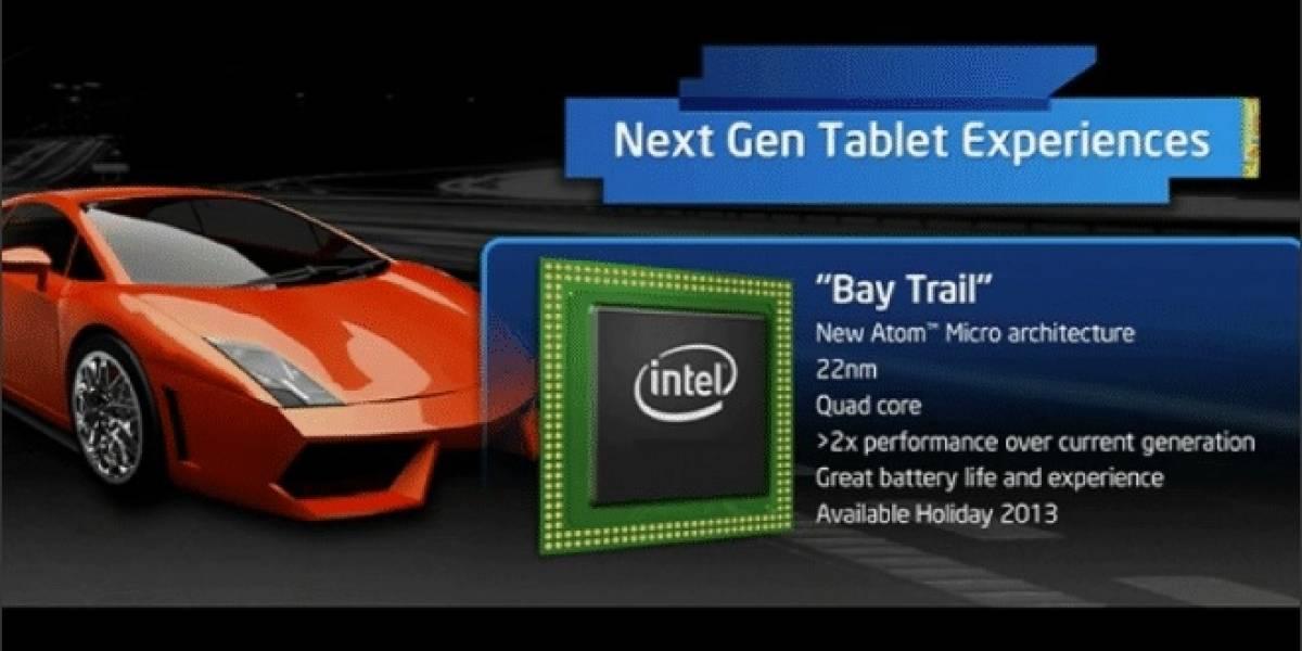 """Intel: Dispositivos táctiles basados en Atom """"Valleyview-T"""" tendrán precios desde US$ 200"""