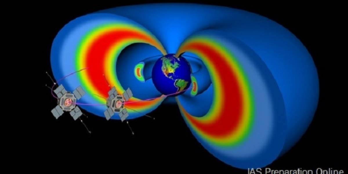 NASA descubre un tercer cinturón de radiación de la Tierra (anillos de Van Allen)
