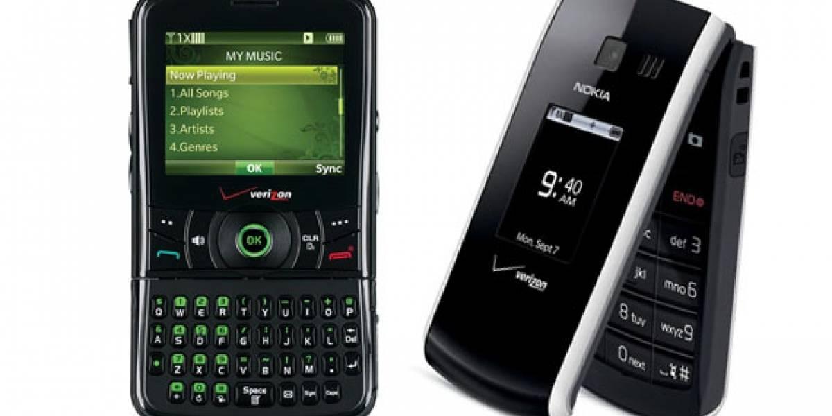 Verizon anuncia los teléfonos Razzle y Nokia 2705 Shade
