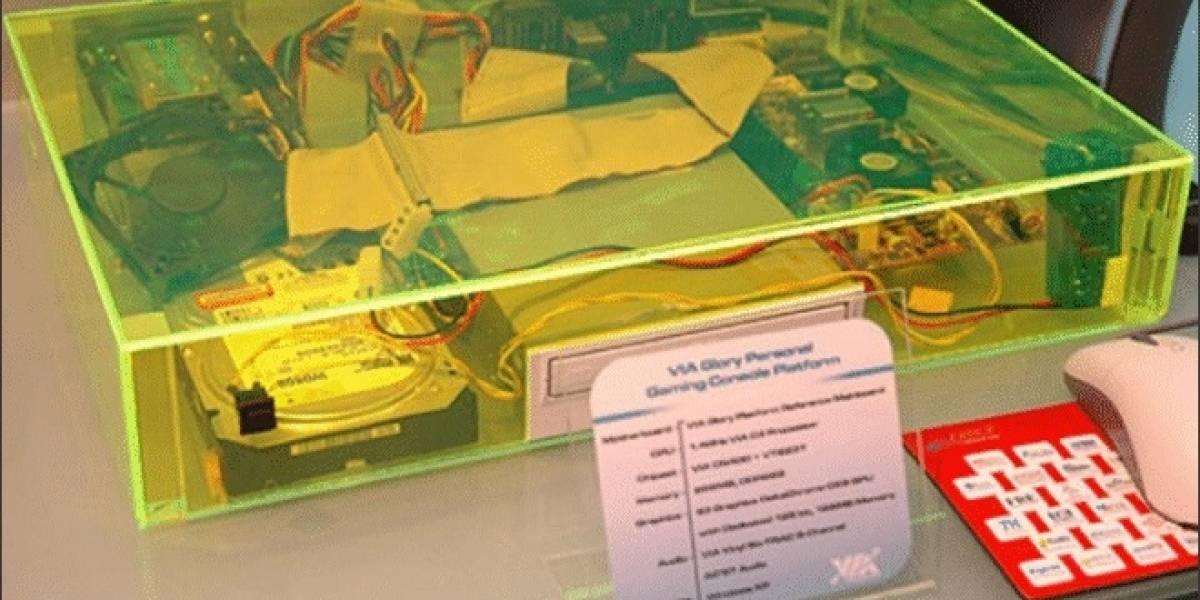 Primeros detalles de la consola VIA Glory Personal Gaming Console Platform 2013