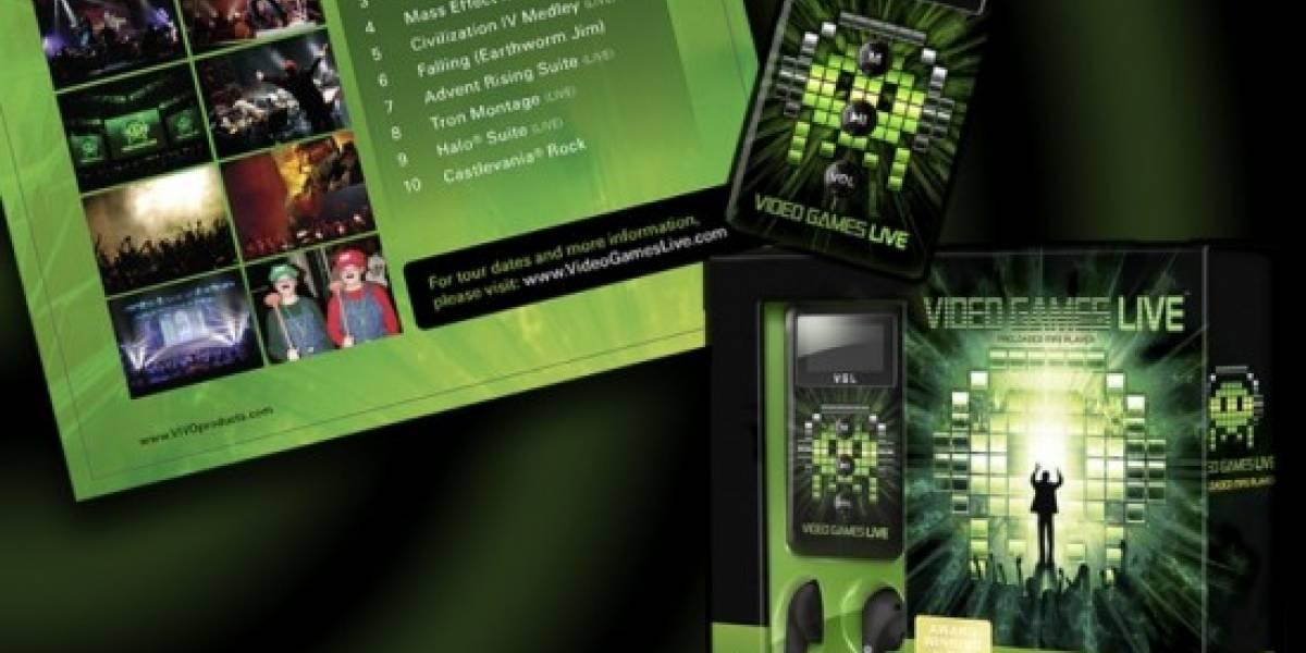 Reproductor MP3 de Video Games Live