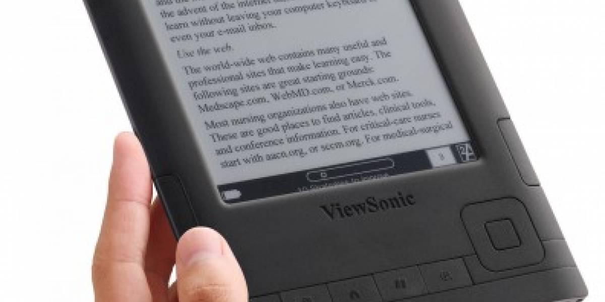 Viewsonic lanza sus propios e-readers