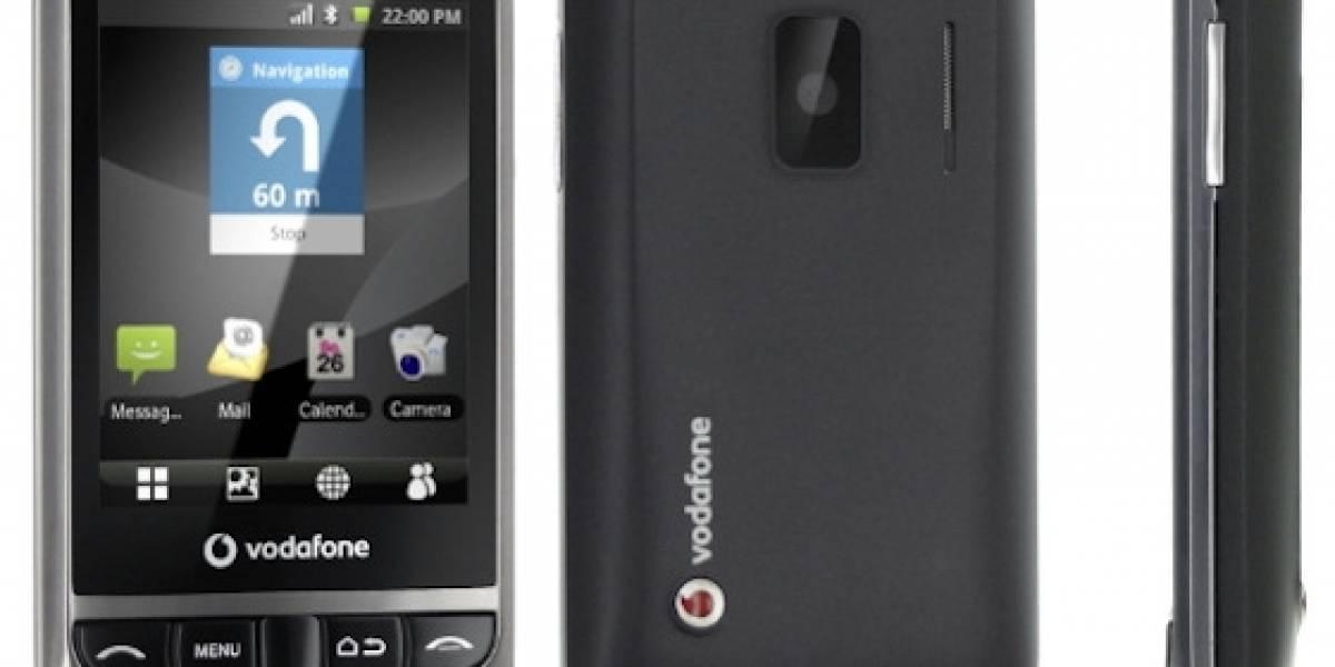 Vodafone lanza una serie de móviles