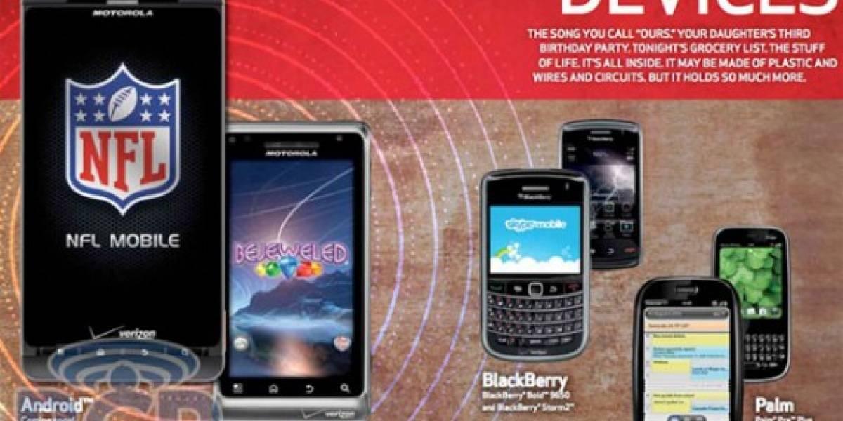 Motorola Droid 2 se deja ver en catálogo de Verizon