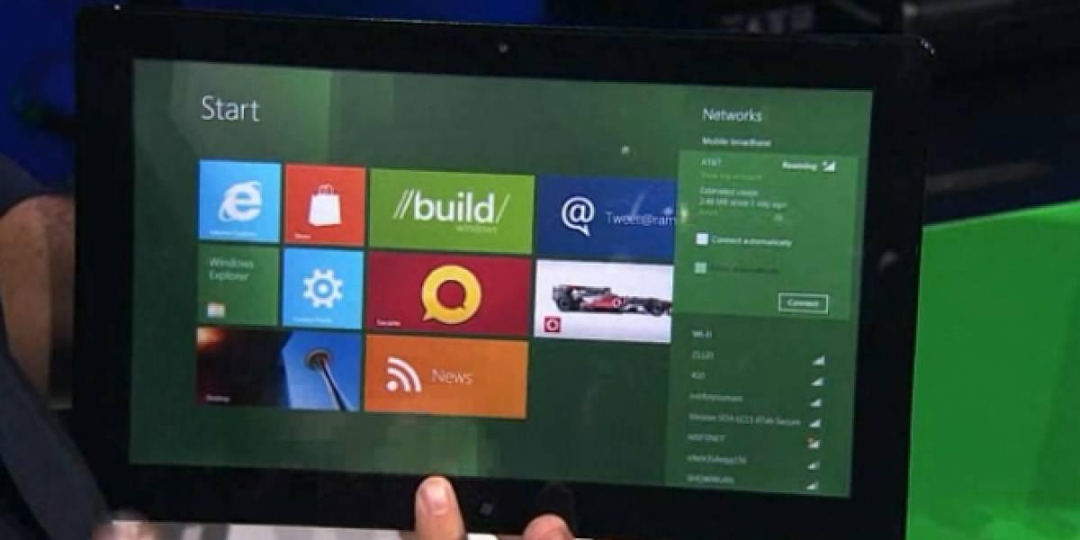 Lenovo podría ser el primero en estrenar tableta con Windows 8