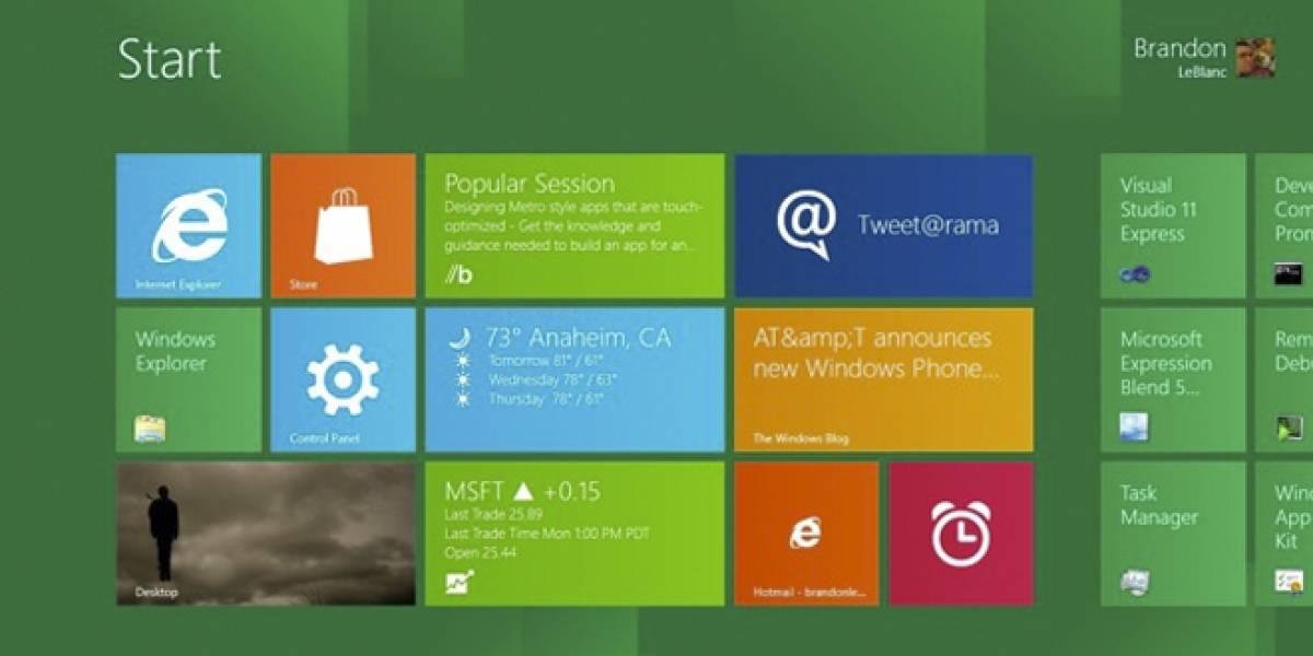 Todas las versiones de Windows 8 serían lanzadas en octubre