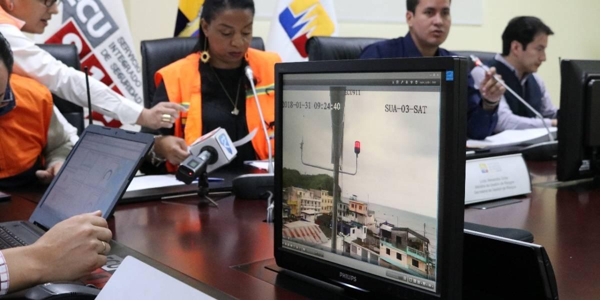 Video: Así fue el simulacro nacional de tsunami en la Costa ecuatoriana