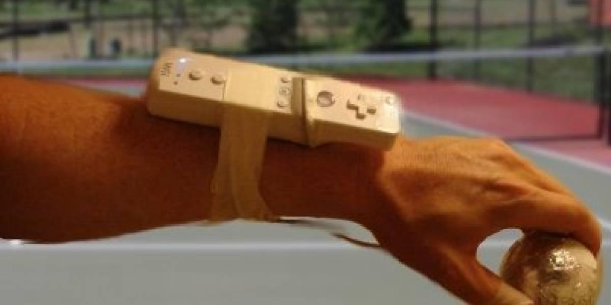 Increíble hack de Wiimote para ayudar a jugar Tennis de verdad