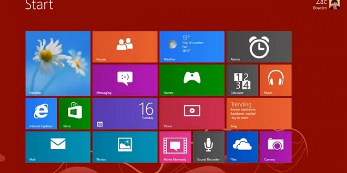 """Un recorrido por las nuevas características de Windows 8.1 build 9369 """"Blue"""""""