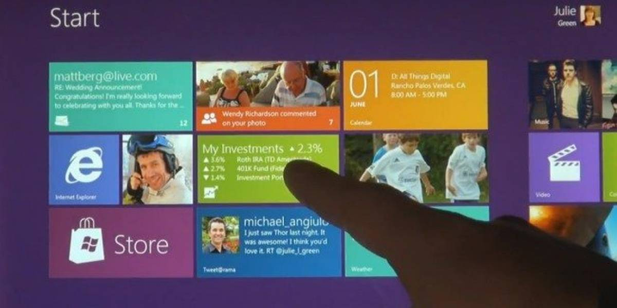 Windows 8 Consumer Preview ya está disponible