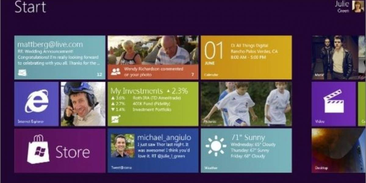 Microsoft muestra Windows 8 on ARM