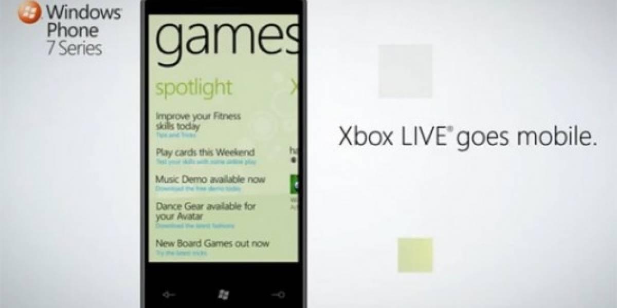 Los juegos de Windows Phone 7 ofrecerán hasta 200 puntos de Gamerscore [GDC10]
