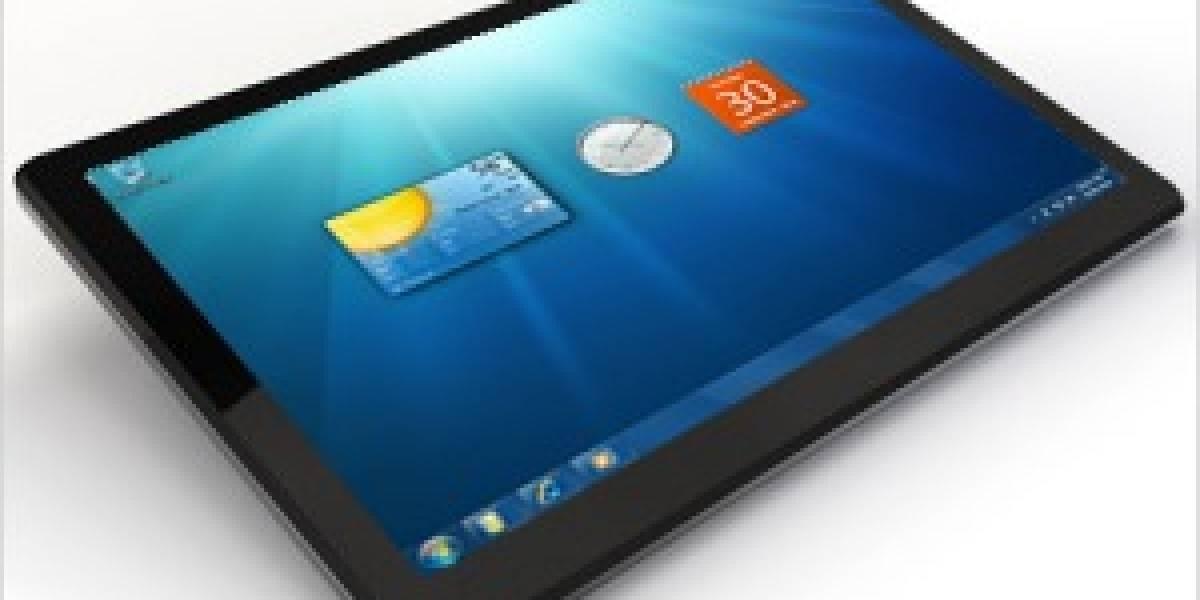 Ballmer dice que vienen muchos tablets con Windows 7 antes de fin de año