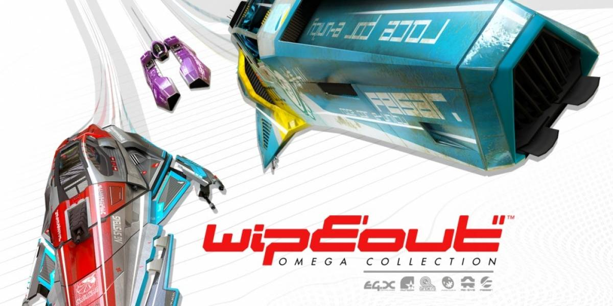 WipEout Omega Collection llegará con un nostálgico empaque