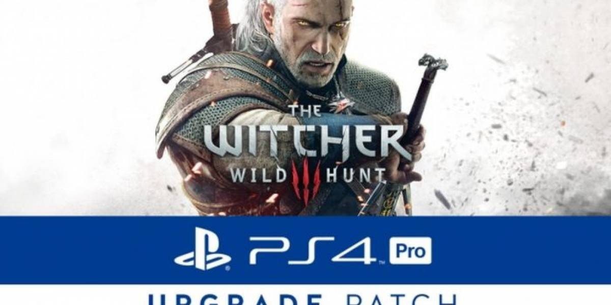 The Witcher III ya se puede jugar a resolución 4K en PS4 Pro